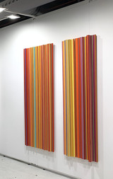 Unique work Made from Thread Height: 150cm
